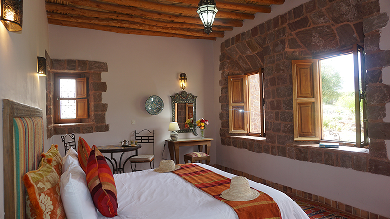 Superior room at Kasbah Angour Atlas Mountains Hotel