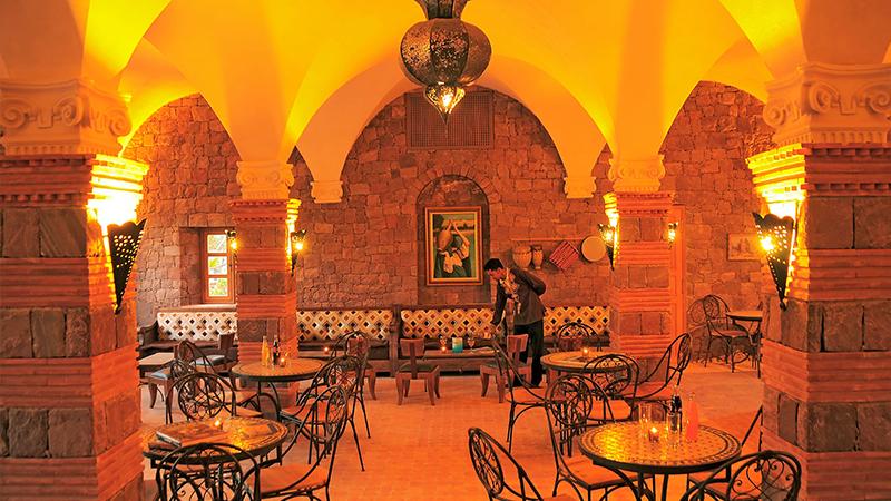 Bar Azrou at Kasbah Angour Atlas Mountains Hotel
