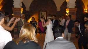 Wedding celebration at Kasbah Angour