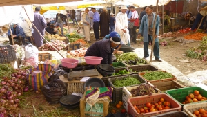 Vegetable souk