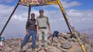 Summit of Mount Toubkal (4,167m)