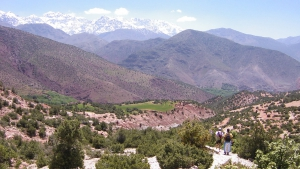 View of Mount Toubkal