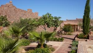 Southern garden terraces
