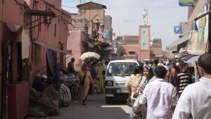 Street scene - Medina