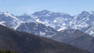 Mount Toubkal in Spring
