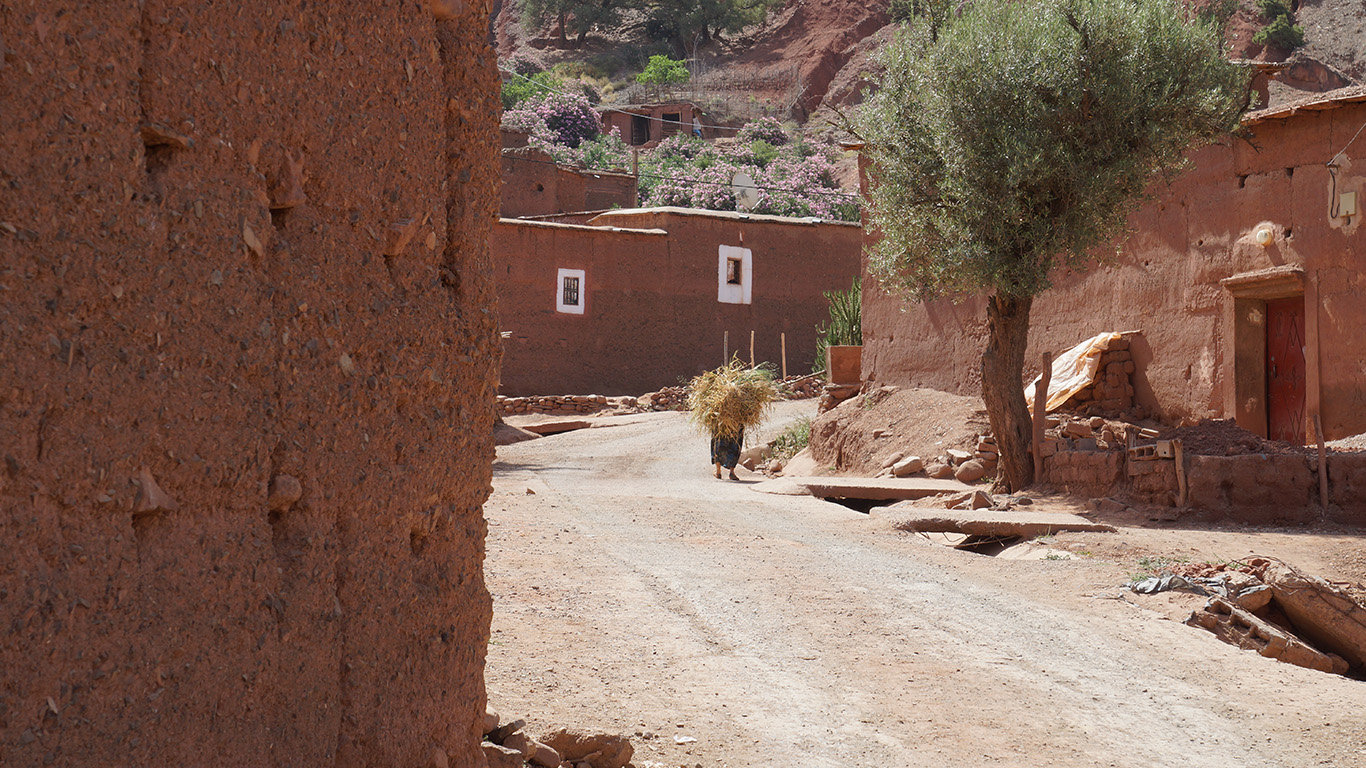 Outghal village
