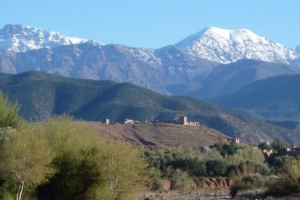 View of Kasbah Angour Atlas Mountains Hotel